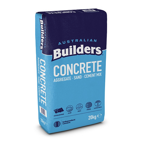 BUILDERS CONCRETE 20KG BAG