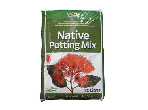 GROW BETTER NATIVE POTTING MIX 30L