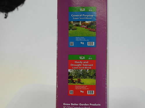 GROW BETTER HARDY & DROUGHT TOLERANT LAWN SEED