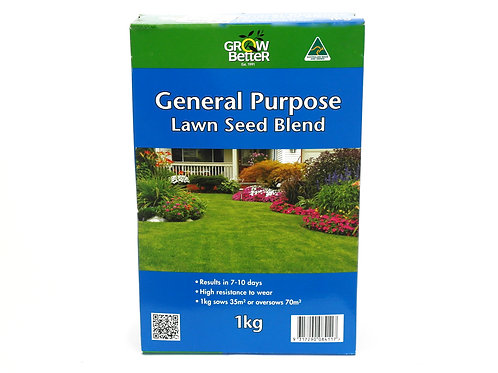 GROW BETTER GENERAL PURPOSE LAWN SEED