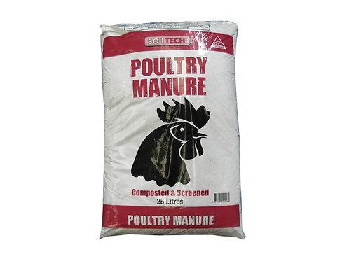 SOILTECH POULTRY MANURE 25L