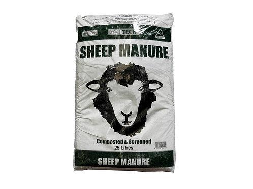 SOILTECH SHEEP MANURE 25L