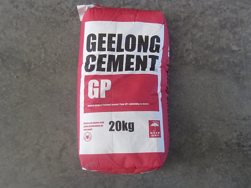 GEELONG GP CEMENT 20KG BAG
