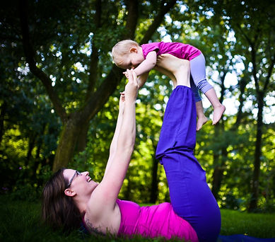 YOGyoga Eltern-Kind-Yoga Yoga Kinder Eltern Wissel Kalkar Kleve