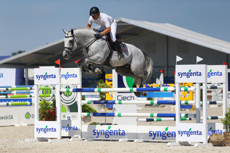 Cilverback Du Vlist Z as part of the Ludger Berbaum Olympic stables