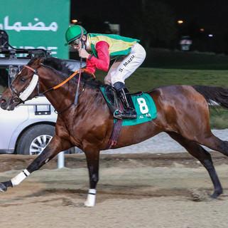 Szczepan set a new track record in Al Ain!