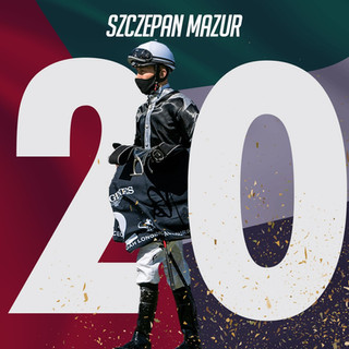 Szczepan beats his record of victories from the previous season.