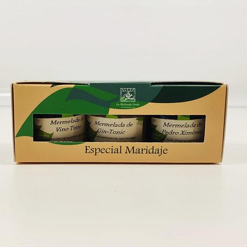 Mermelada en estuche Especial Maridaje. La molienda Verde