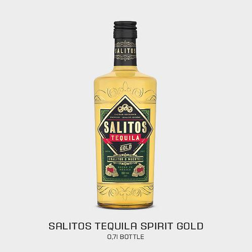 SALITOS TEQUILA GOLD