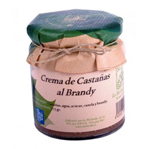 Crema de castañas al brandy (275 gr)