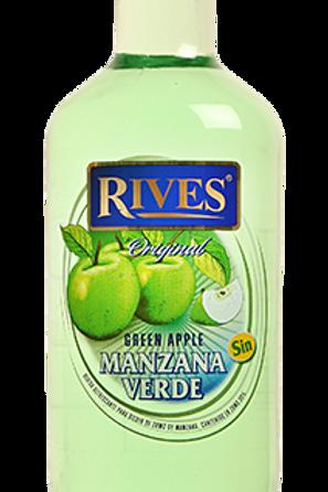 Licor de manzana verde (Sin alcohol)
