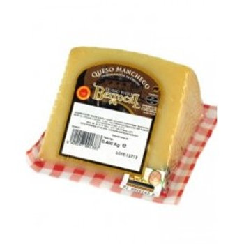 Copia de Queso Manchego Berrocal CUÑA 400GR