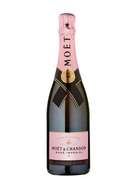 Champagne Moët & Chandon rosado