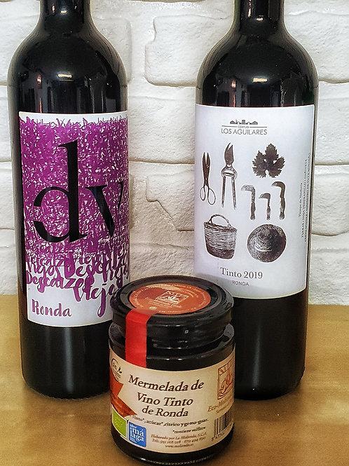Pack vinos de Ronda