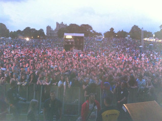 My view from the stage at Splendour