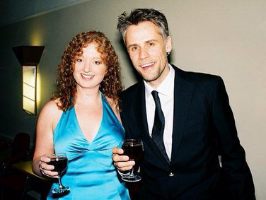 My co-host Richard Bacon at Mansfield Palace Theatre