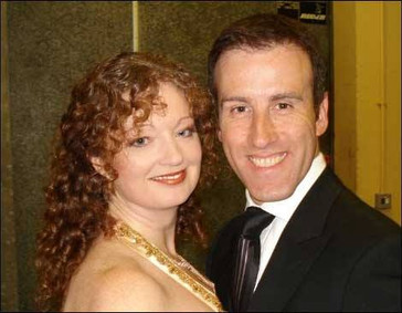 Co-hosting a shpw with Anton Du Beke