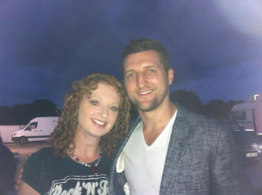 Boxer Carl Froch at Splendour