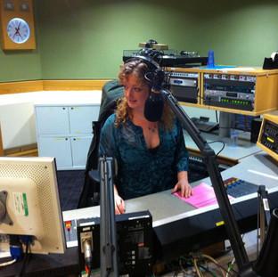 My first Radio 2 show