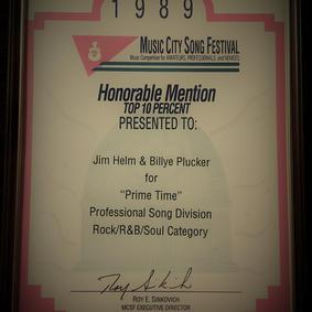 """""""Primetime"""" Award"""