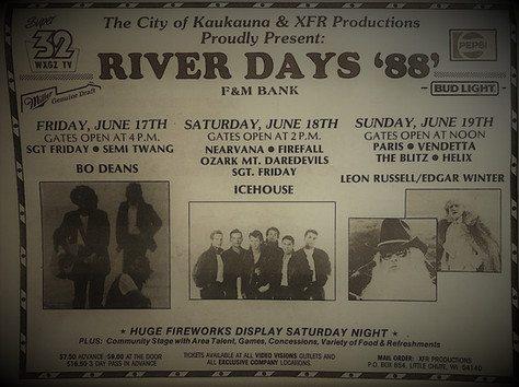 River Days '88'
