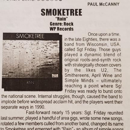 Smoketree Rain Review