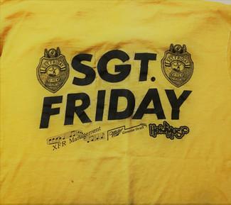 Sgt. Friday T-Shirt