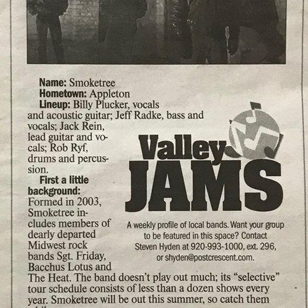 Valley Jams Article