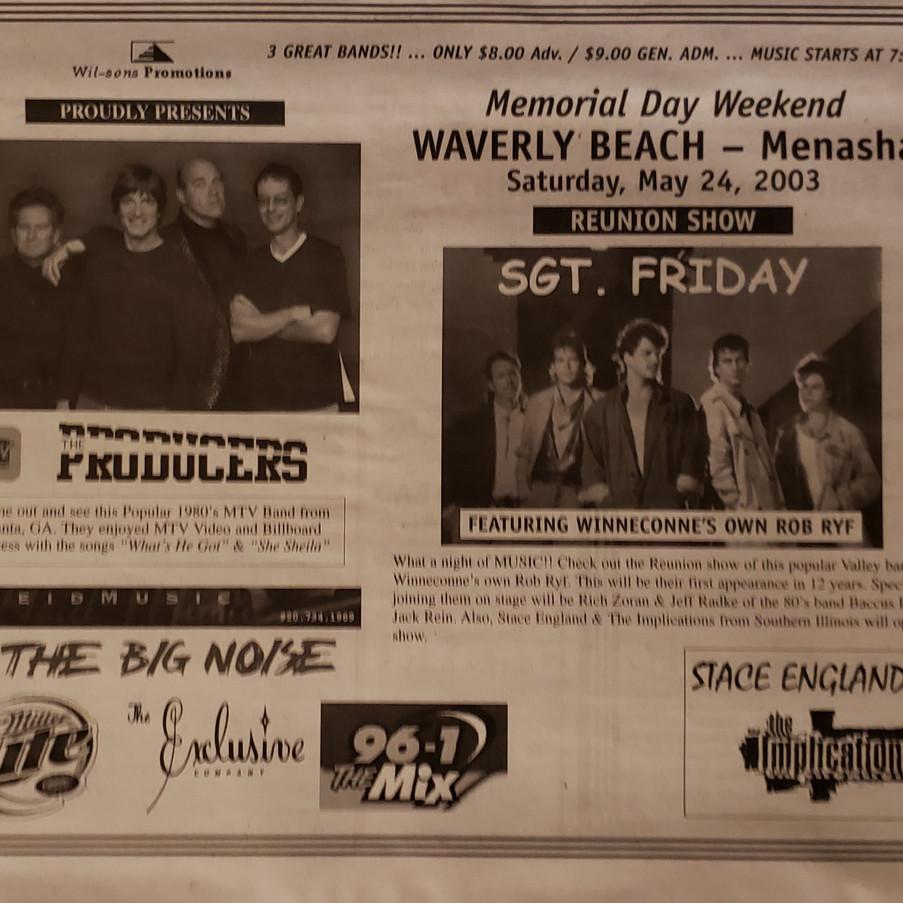 Waverly Beach Reunion Poster