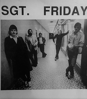 1986 Poster with the original Sgt. Friday members