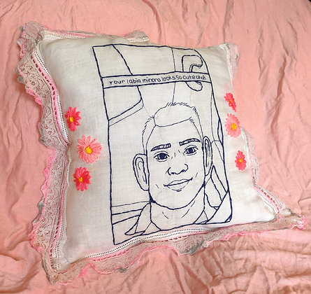 """Labia Minora"" Pillow"