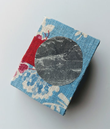 """""""Hard Center"""" Handmade Mini Book"""