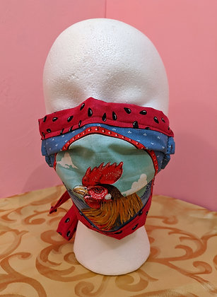"""Farm Life"" Cloth Mask"