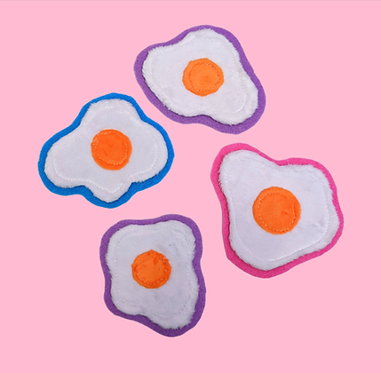 Plush Egg Patches