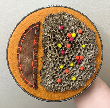 """The Thaw"" Multimedia Embroidery"