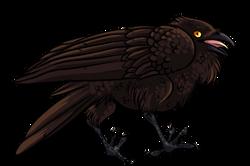 Crow Sticker, 2016