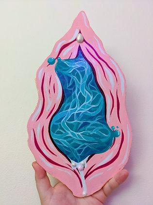 Woodcut Vulva #2