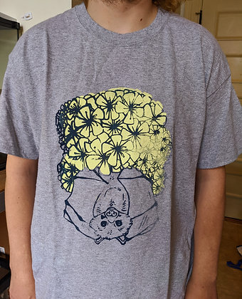 """Spring Bat"" Screen Printed Tee"