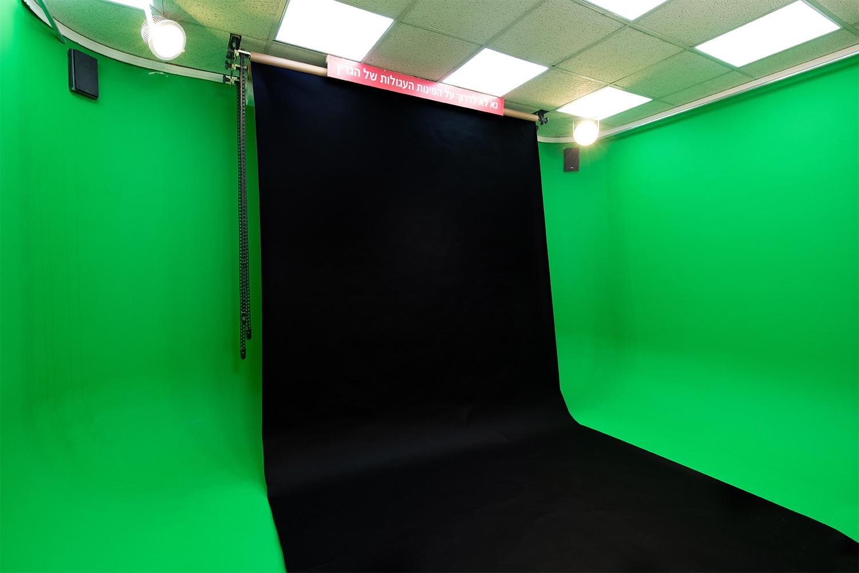 מסך שחור לצילום