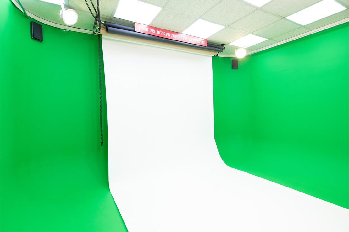 מסך לבן לצילום