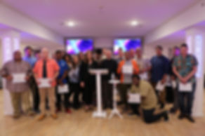 NEW LIFE FOR YOUTH group graduates 2020.