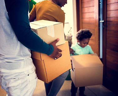 black-family-moving-in-to-new-house-PCAH