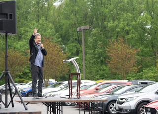 'A block party for Jesus': Churches take worship to the parking lot