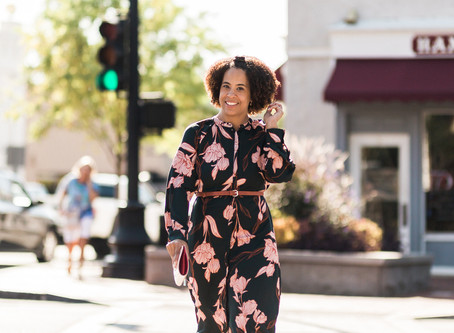 How to wear a floral midi dress 3 ways