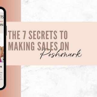 The 7 Secrets to Making Sales on Poshmark