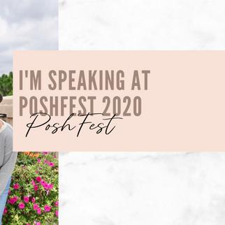 I'm Speaking at PoshFest 2020