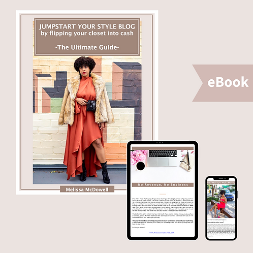 Jumpstart your Style Blog by Flipping your Closet into Cash: The Ultimate Guide