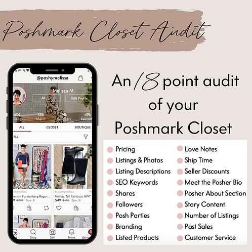 POSHMARK CLOSET AUDIT: An expert review of your closet