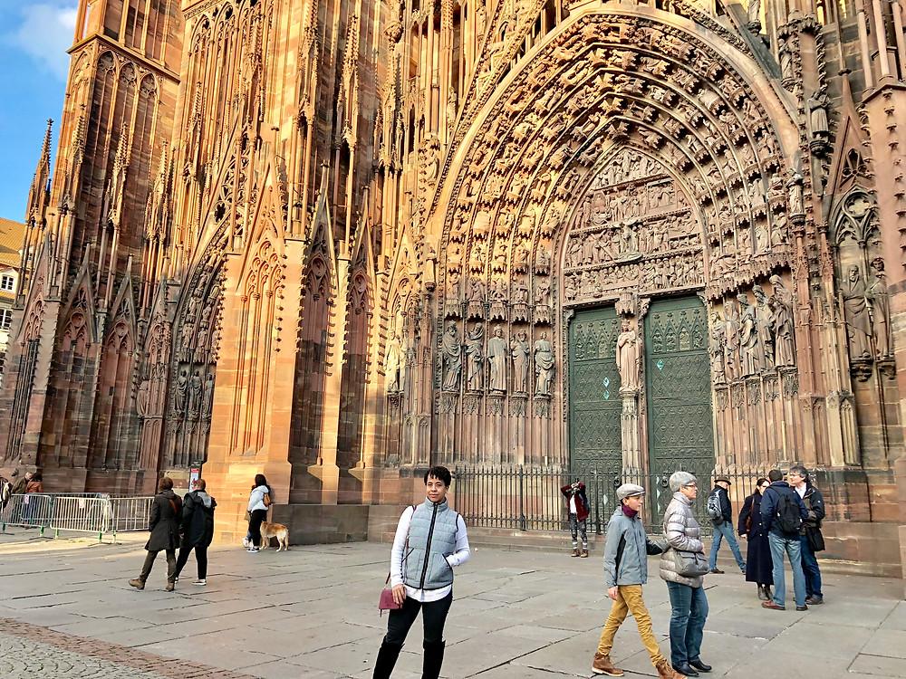 Strasbourg Cathedral de Notre-Dame in Strasbourg, France