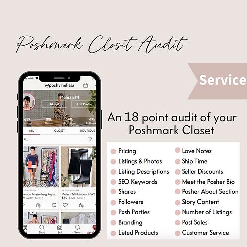 Poshmark Closet Audit: An Expert Review of your Poshmark Closet